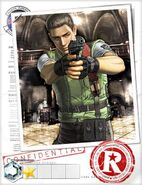 Chris Redfield BIOHAZARD Team Survivor RE1 2