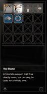 RESIDENT EVIL 7 biohazard Red Baster inventory