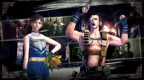 Resident Evil Digital Preorder Costumes Trailer ESRB