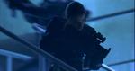 Resident Evil film - Rain on the stairwell