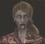 Degeneration Zombie face model 8