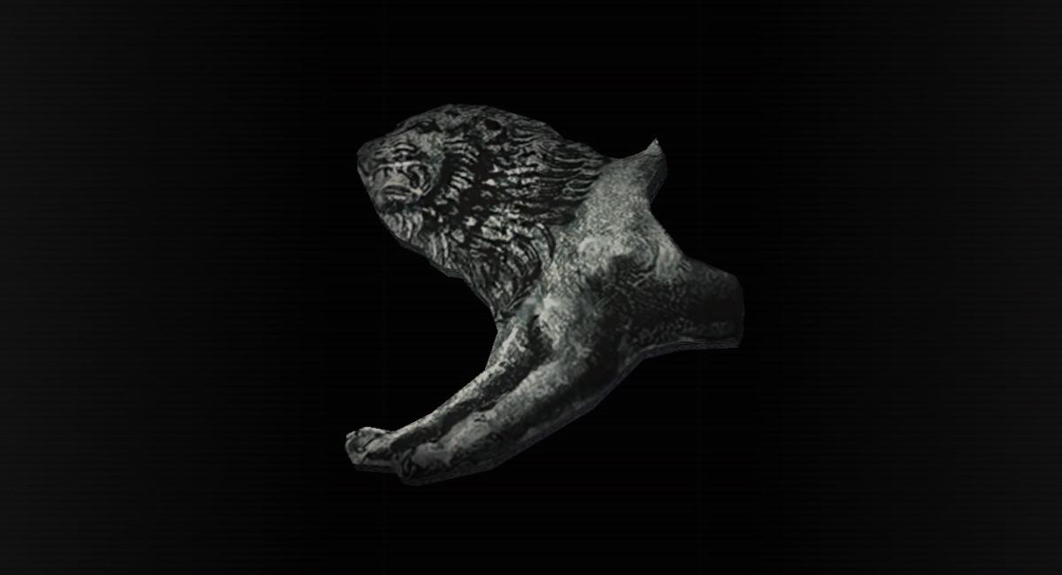 Figura de león