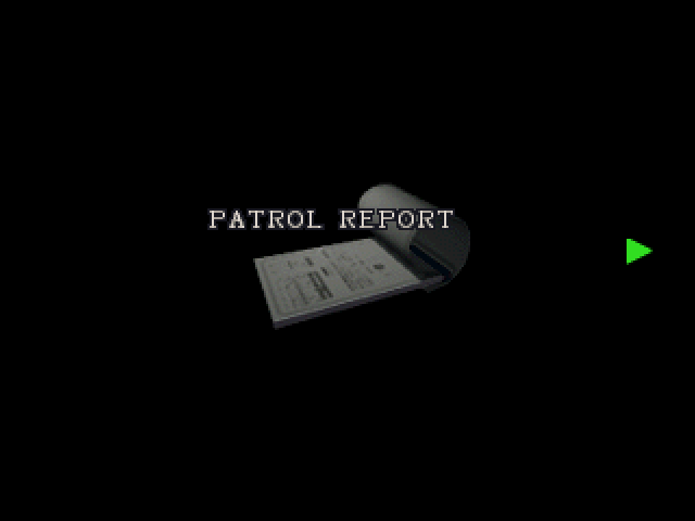 Patrol report