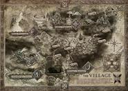 Resident Evil Village - Village map