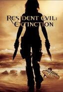 Resident Evil Extinction Teaser Poster