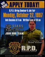 Brad RE2R Poster