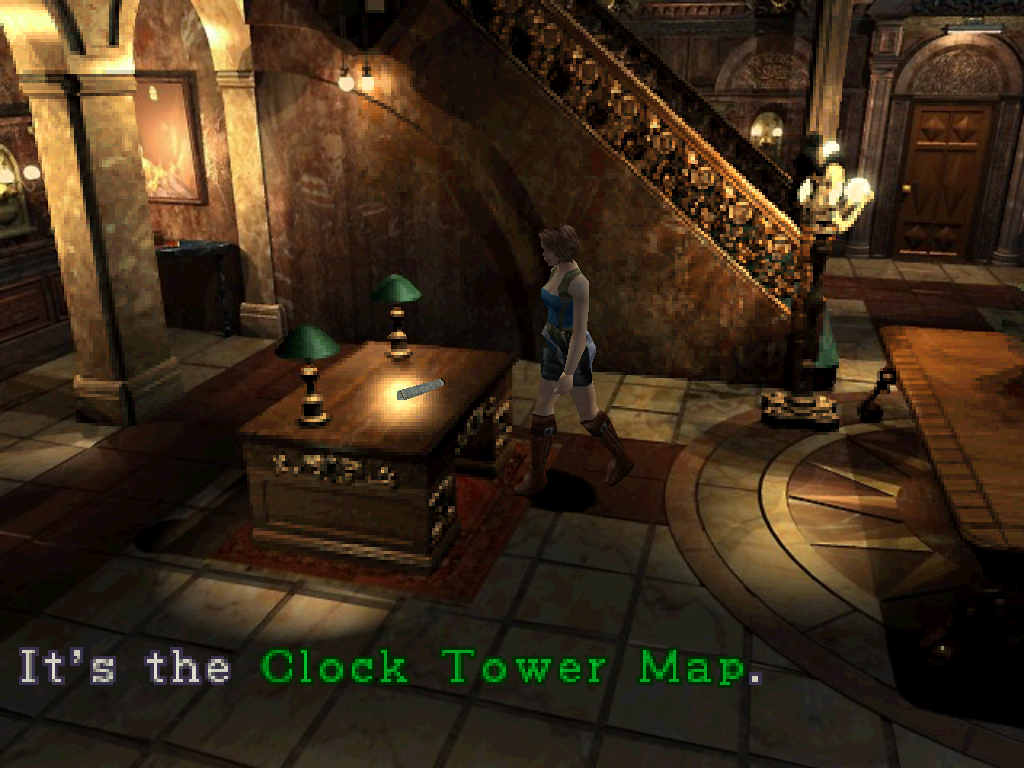 Clock Tower Map