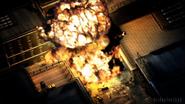 Esplosione dell'autocisterna