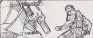 Leon vs. Chris storyboard 14