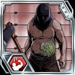 BIOHAZARD Clan Master - BOW card - Axe Man