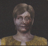 Degeneration Zombie face model 57