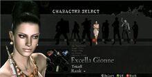 Excella Gionne RE5 Mercenaries Reunion