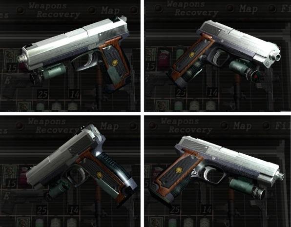 Pistole (Silver Ghost)