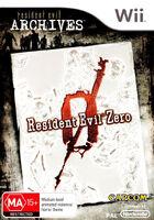 Resident Evil 0 Archives AUS