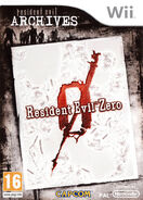 Resident Evil 0 cover - WII PAL