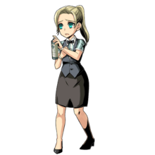 BIOHAZARD Clan Master - Character art - Cindy Lennox.png