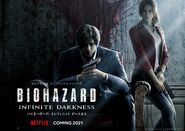 BIOHAZARD Infinite Darkness poster