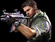 Chris Redfield by Cheli chan