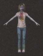 Degeneration Zombie body model 65