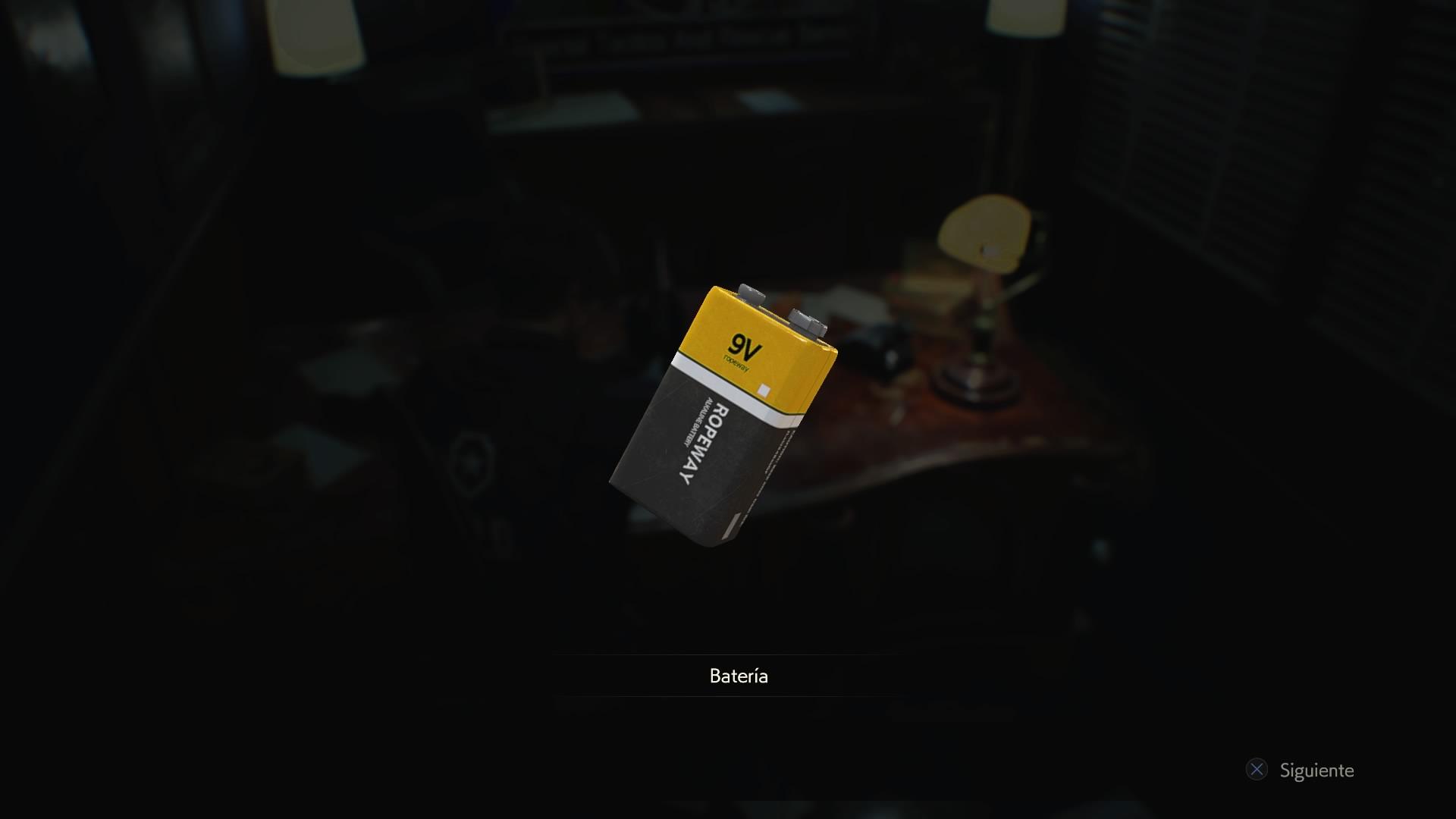 Batería (RE2)