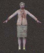 Degeneration Zombie body model 59