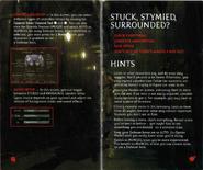 Resident Evil Instruction Booklet 12