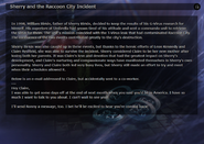 Sherry and the Raccoon City Incident RE.NET
