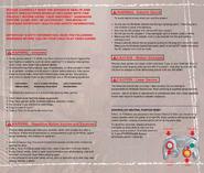 Resident Evil 4 GameCube manual 2