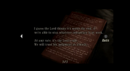 Resident Evil 4 file - Chief's Note 5