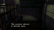 Resident Evil CODE Veronica - square in front of the guillotine - examines 06
