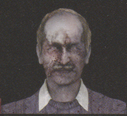 Degeneration Zombie face model 23