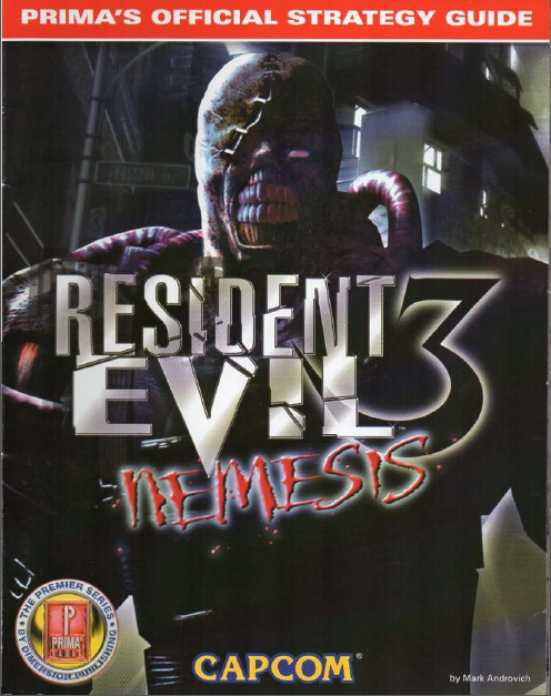 Resident Evil Nemesis: Prima's Official Strategy Guide