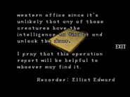 RE2 Operation report 2 05