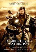 Resident Evil Extinction poster 6