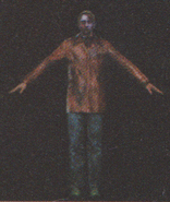 Degeneration Zombie body model 63