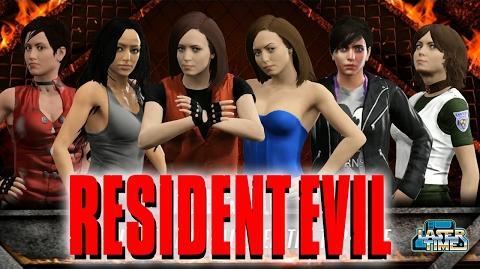 The Women of Resident Evil - FIGHT!