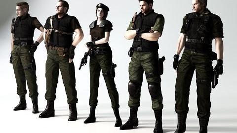 Resident Evil Reboot fancast 2017