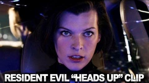 Resident Evil Retribution 3D Clip - Heads Up