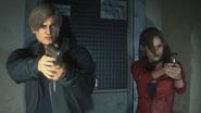 Claire i Leon RE2