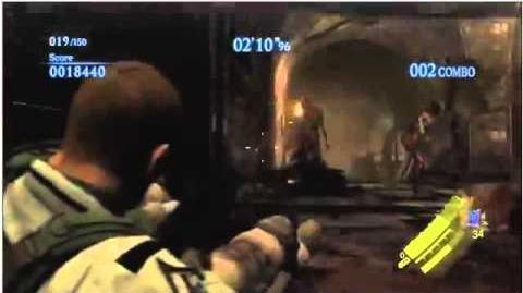 Resident Evil 6 Mercenaries Mode