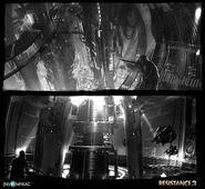 Resistance 3 Terraformer Interior concept art