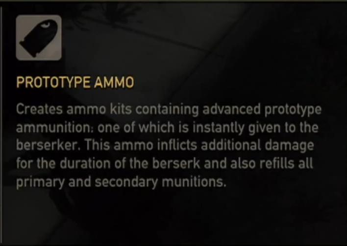 Prototype Ammo