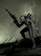 Resistance Fall of Man Hybrid concept art