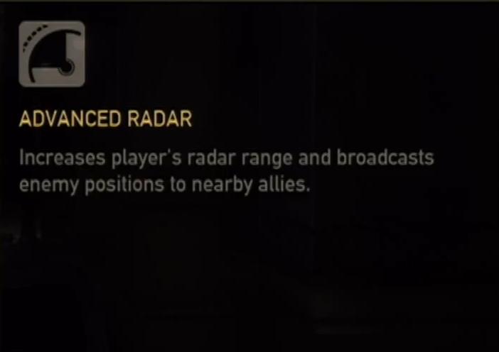 Advanced Radar