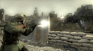 British Soldier Facing Stalker