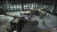 Vtol in the hangar