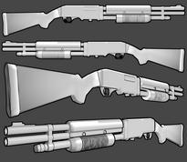 Rossmore 236 combat shotgun by thefirewarriors