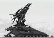 Gun Tower concept art