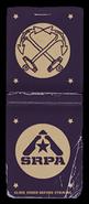 SRPA Matchbox Cover