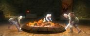Cloven fire
